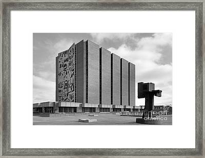 Bowling Green State University Jerome Library Framed Print by University Icons