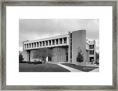 Bowling Green State University Math And Science Framed Print by University Icons