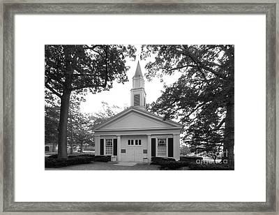 Bowling Green State University Prout Chapel Framed Print by University Icons