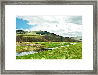 Bowmont Valley Framed Print by Tom Gowanlock