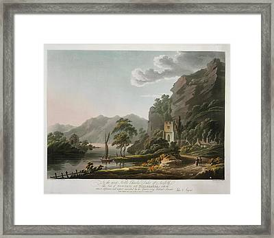 Bowness On Windermere Framed Print by British Library