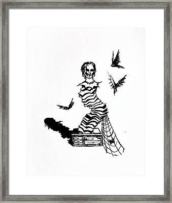 Box Framed Print by Kd Neeley