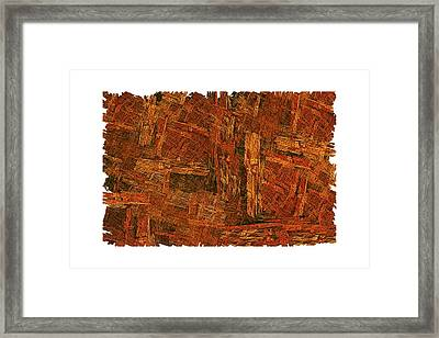 Boxed-in Framed Print by Doug Morgan