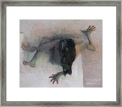 Boxed In Framed Print by Ted Guhl