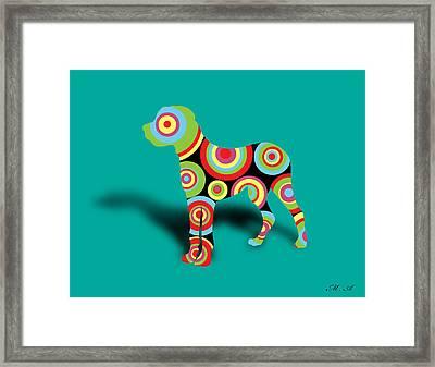 Boxer Framed Print by Mark Ashkenazi