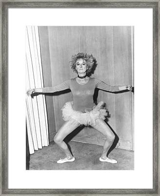 Boy, Did I Get A Wrong Number, Phyllis Framed Print by Everett