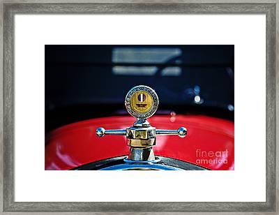 Boyce Moto Meter Framed Print by Scott Pellegrin