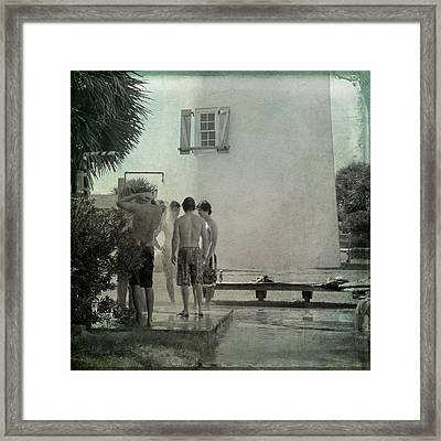 Boys Of St. George Framed Print by Toni Hopper