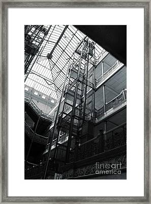 Bradbury Building Framed Print by Gregory Dyer