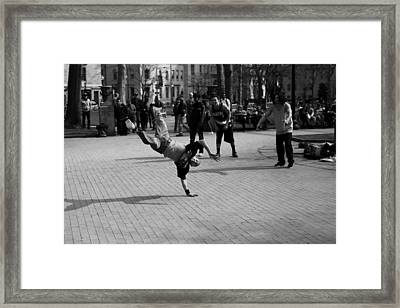 Brake Dance 001 Limited Edition To 10 Framed Print by Dorin Adrian Berbier