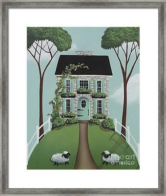 Brambleberry Cottage Framed Print by Catherine Holman