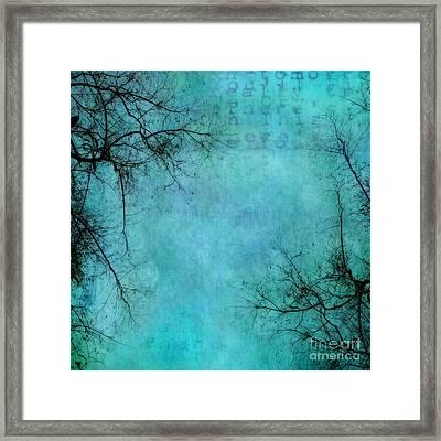 Branches Framed Print by Priska Wettstein