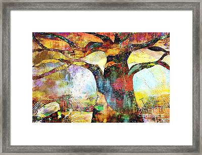 Branching Out Framed Print by Fania Simon