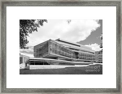 Brandeis University Carl J. Shapiro Science Center Framed Print by University Icons