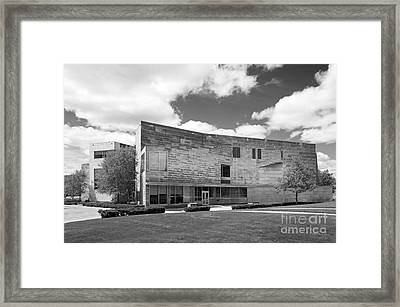 Brandeis University Shapiro Campus Center Framed Print by University Icons