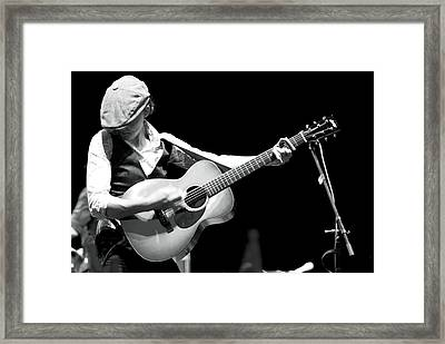 Brandi Carlile Count Basie Theatre Framed Print by Terry DeLuco