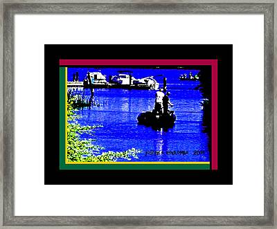 Brannan Island Road California Framed Print by Joseph Coulombe