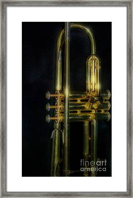 Brass Section Please Framed Print by Skip Willits