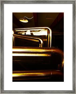 Brassed Off  Framed Print by Steve Taylor