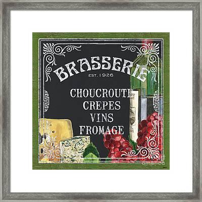 Brasserie Paris Framed Print by Debbie DeWitt