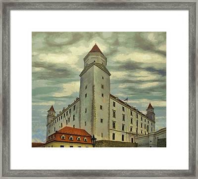 Bratislava Castle Framed Print by Jeff Kolker