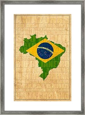 Brazil Framed Print by Andrew Fare