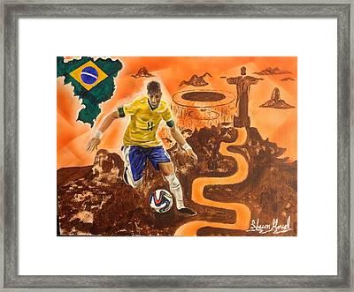 Brazil Framed Print by Shawn Morrel