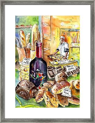 Bread From Bergamo Framed Print by Miki De Goodaboom