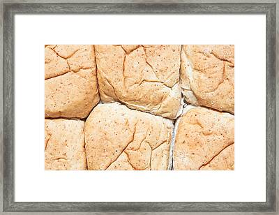 Bread Rolls Framed Print by Tom Gowanlock