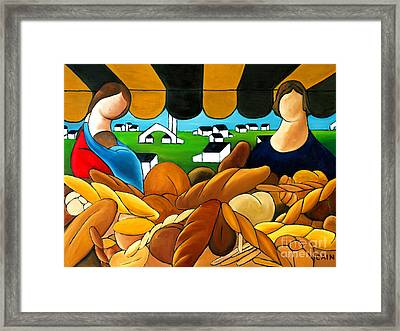 Bread Framed Print by William Cain