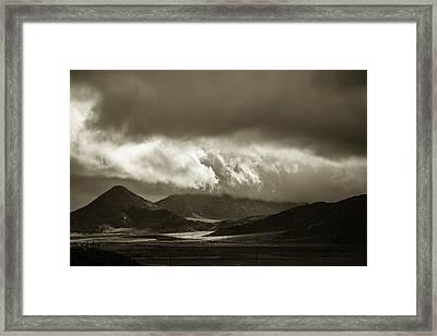 Break After The Storm Framed Print by Art K