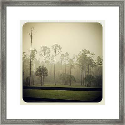 Break Of Dawn Framed Print by Chasity Johnson