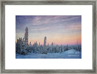 Break Of Dawn Framed Print by Priska Wettstein
