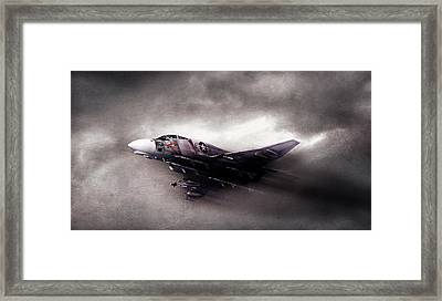 Break On Through Framed Print by Peter Chilelli