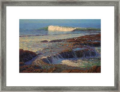 Breaker Framed Print by Terry Perham