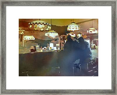 Breakfast With Tiffanys Framed Print by Kris Parins