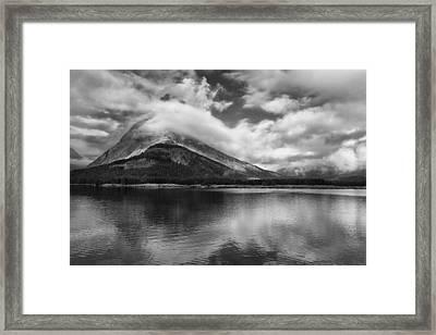 Breaking Clouds Framed Print by Andrew Soundarajan