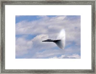 Breaking Through Framed Print by Adam Romanowicz