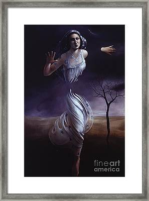 Breaking Through Framed Print by Jane Whiting Chrzanoska