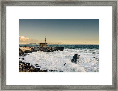 Breaking Waves I Framed Print by Marco Oliveira