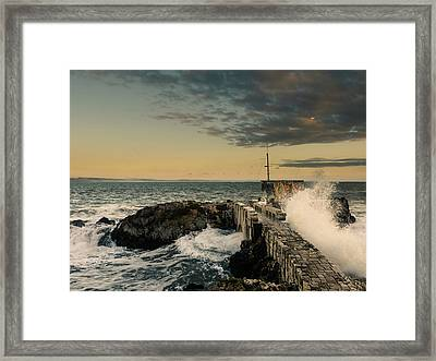 Breaking Waves IIi Framed Print by Marco Oliveira