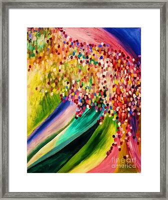 Breakthrough Is Coming Framed Print by Esther Rowden