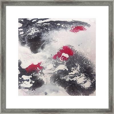 Breath Framed Print by Mia Webb