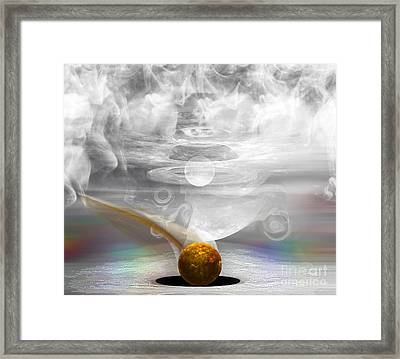 Breathing Life Into A Planet Framed Print by Peter R Nicholls