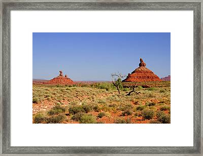Breathtaking Valley Of The Gods Framed Print by Christine Till