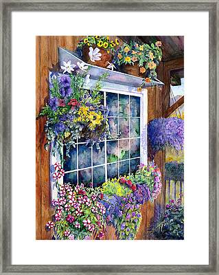 Breckenridge Reflections Framed Print by Mary Giacomini