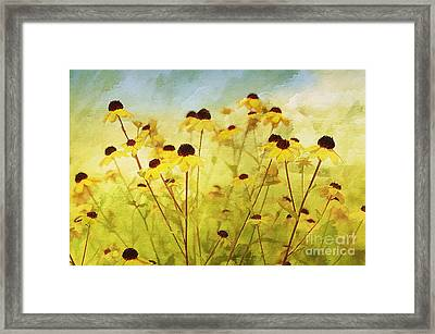 Breeze Framed Print by Elaine Manley