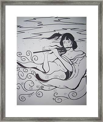 Breeze Framed Print by Ronald Mcduff