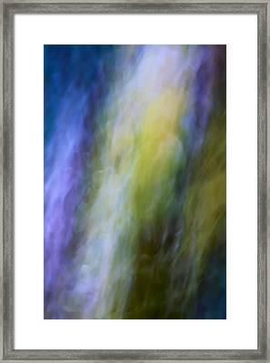 Breeze Through The Garden Framed Print by Mah FineArt