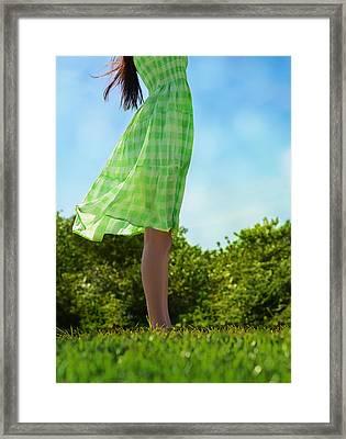 Breezy Framed Print by Laura Fasulo